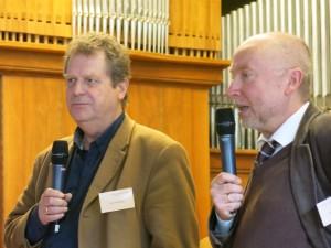 Tonius Timmermann und Hans-Ulrich Schmidt